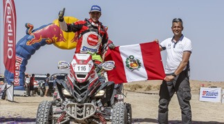 Alexis Hernández logró 3er lugar en Rally Cross Country 2017