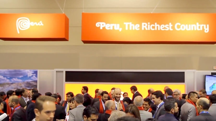 Peru shows off its exports and investment in minin