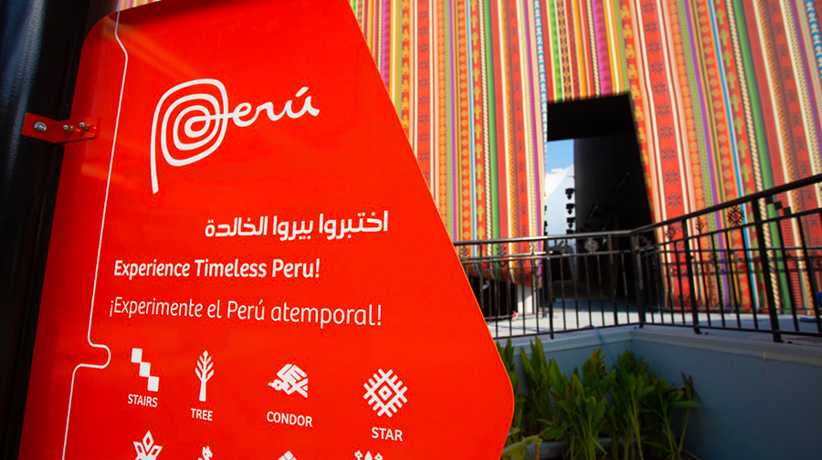 One of the most stunning pavilions! Perú keeps surprising at the Expo 2020 Dubai