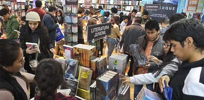 2017 Lima International Book Fair: attended by more than one million readers