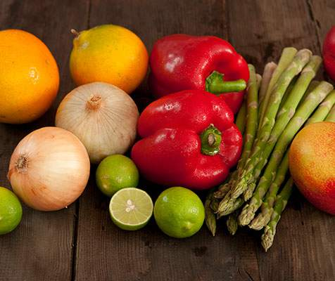Fruits and Fresh Vegetables