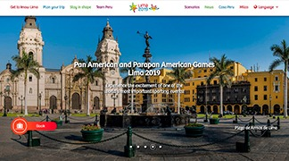 The Website offers visitors information about Peruvian tourist attractions, and travel packages.