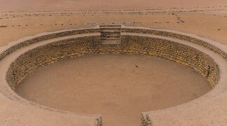 Caral: The world surrenders to its technology