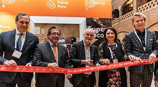 Peru dazzles at Europe's most important cocoa and cocoa products fair.