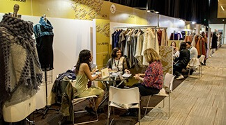 Buyers from five continents appreciated products by Peruvian designers focused on sustainability.